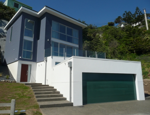 Owhiro Bay House New house completed